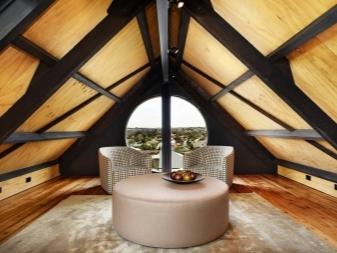 Дизайн интерьера мансарды в частном доме (82 фото): оформление этажа мансардной комнаты, красивые варианты декора крыши, идеи и примеры проектов